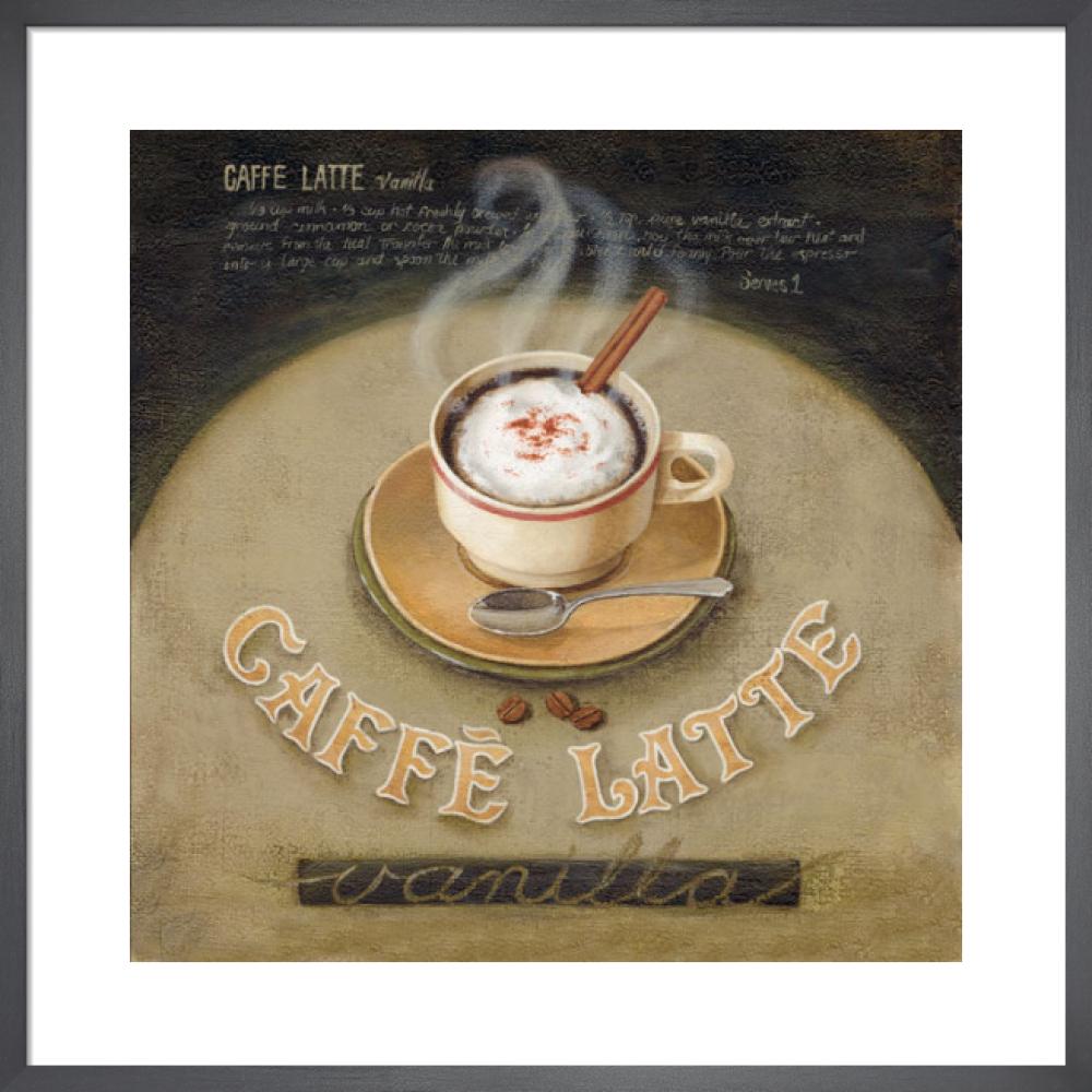Café Latte by Lisa Audit