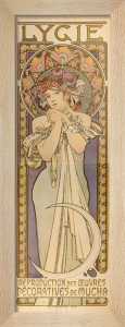 Lygie - Works by Mucha, 1901 by Alphonse Mucha