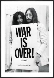 John Lennon - War is Over by Anonymous