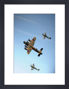 Battle of Britain Memorial Flight by Anonymous