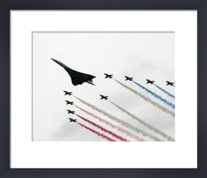 Concorde and the Red Arrows by Anonymous