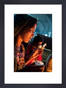 Worshipper, San Francisco church, San Francisco El Alto, Guatemala by Sergio Pitamitz