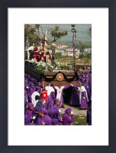 Holy Week Procession, Antigua, Guatemala by Sergio Pitamitz