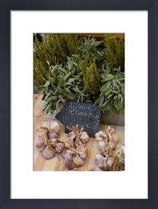Rosemary and onions, Moustiers-Sainte-Marie, Provence, France by Sergio Pitamitz