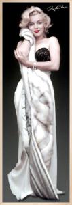 Marilyn Monroe - Fur by Anonymous