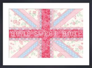 Union Jack, Home Sweet Home by Sasha Blake