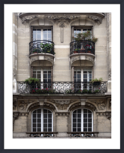 Balcon Parisien II by Tony Koukos