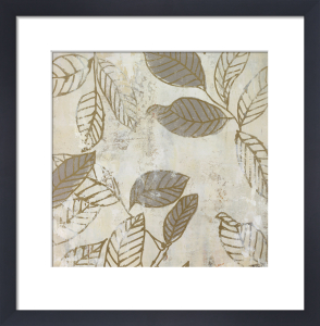 Graphic Leaves IV (small) by Marilyn Bridges