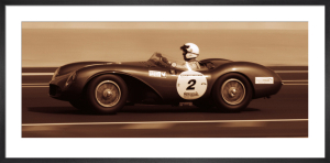 The First Corner (Aston Martin DB3S 1955) by Ben Wood