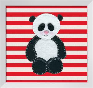 Cute Panda by Catherine Colebrook