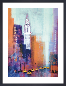 Manhattan Chrysler Building by Colin Ruffell