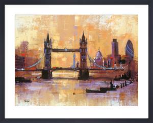 Tower Bridge, London by Colin Ruffell