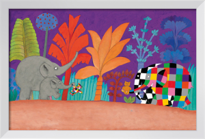 Elmer, Wilber and Teddy by David McKee