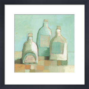 Still Life with Bottles I by Derek Melville