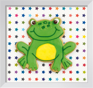 Happy Hoppy Frog by Howard Shooter and Lauren Floodgate