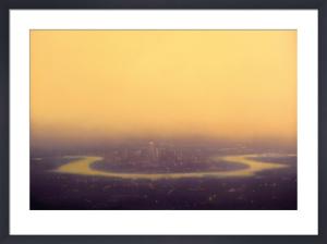 Yellow Canary Wharf by Jenny Pockley