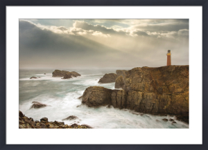 Stormy Lighthouse by John Hartl