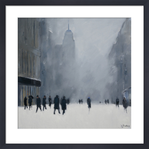 White Out - 5th Avenue by Jon Barker