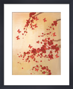 Butterflies & Blossoms by Lily Greenwood