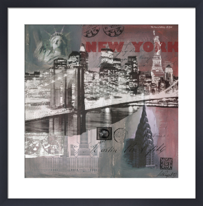 New York by Night by Martine Rupert