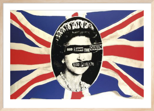 Sex Pistols - God Flag by Anonymous