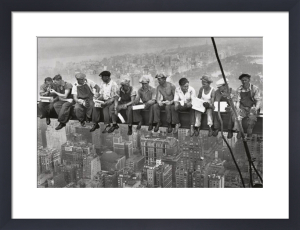 Lunch on a Skyscraper by Charles C. Ebbets