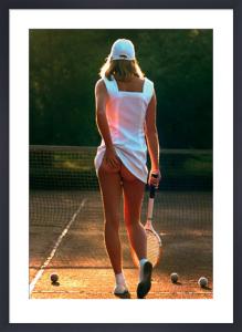 Tennis Girl by Martin Elliott