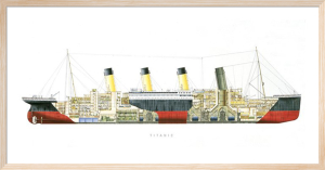 Titanic - Cutaway by Anonymous