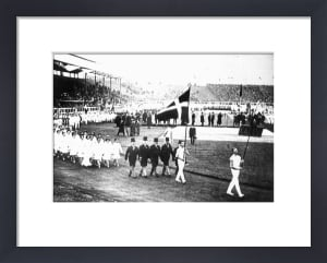 London Olympics 1908 - Opening Ceremony by Anonymous