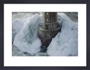 Phare de La Jument - The Lighthouse Keeper I by Jean Guichard