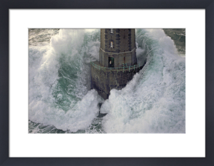 Phare de La Jument - The Lighthouse Keeper II by Jean Guichard