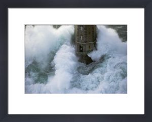 Phare de La Jument - The Lighthouse Keeper IV by Jean Guichard