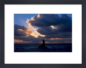Phare de La Vieille III by Jean Guichard