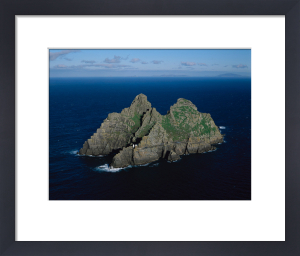 Skellig Michael by Jean Guichard