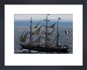 Tall Ship Belem III by Jean Guichard