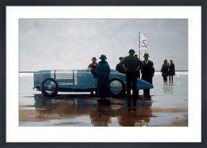 Pendine Beach by Jack Vettriano