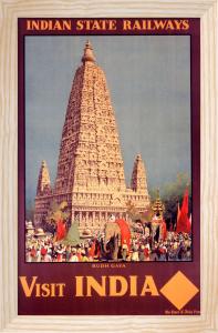 Indian State Railways - Budh Gaya by National Railway Museum