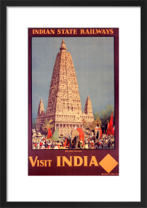 Indian State Railways - Budh Gaya by National Railway Museum