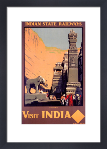 Indian State Railways - Ellora by National Railway Museum