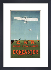Englands First Aviation Races - Doncaster 1909 by National Railway Museum
