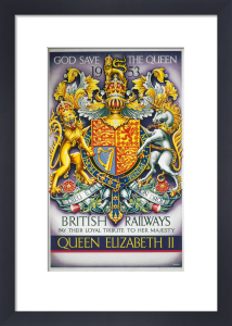 British Railways - Loyal Tribute to the Queen 1953 by National Railway Museum