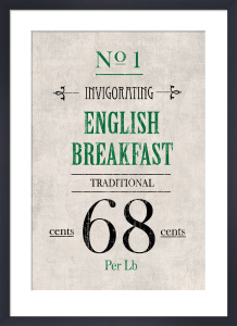 English Breakfast Tea by The Vintage Collection