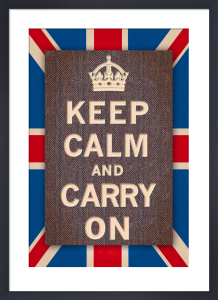 Keep Calm Britain by The Vintage Collection