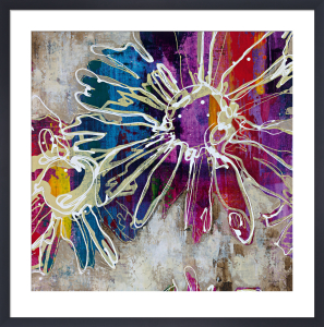 Floral Kick I by Marilyn Bridges