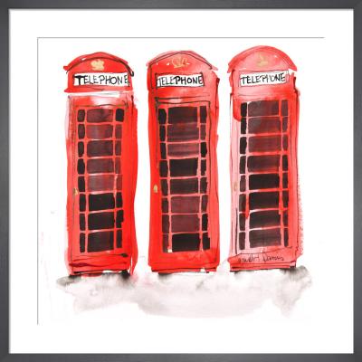 Telephone Trio by Bridget Davies