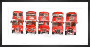 Bus Parade by Bridget Davies