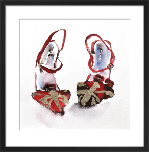 The Red Shoes by Bridget Davies