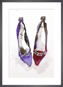 Crown Jewel Shoes by Bridget Davies