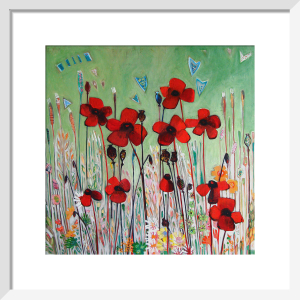Poppy Field by Shyama Ruffell