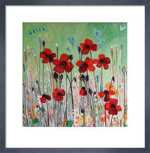 Poppy Field by Shyama Ruffell